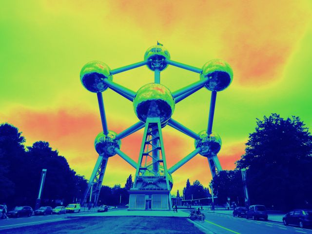 Poster Atomium