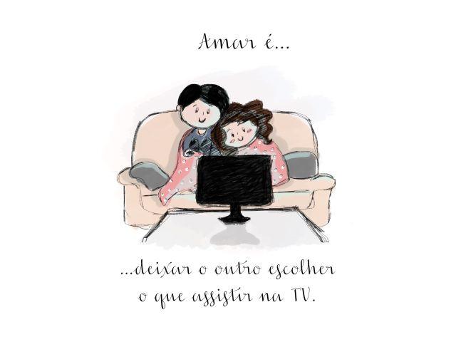Poster Amar é-Escolher  amar é casal namorados