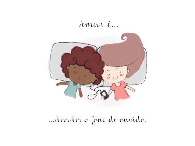 Poster Amar é-Dividir  amar é casal namorados