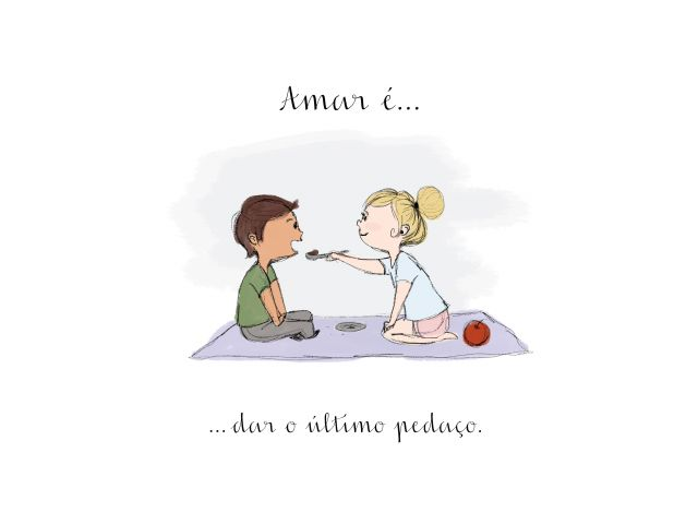Poster Amar é-Último pedaço  amar é casal namorados