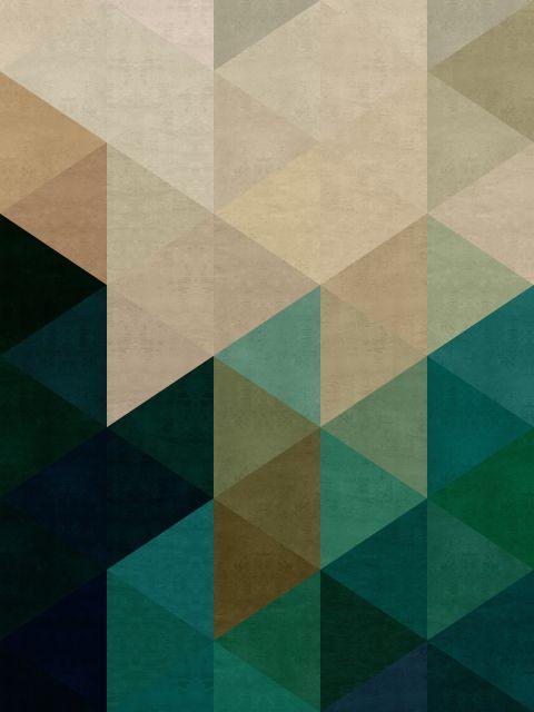 Poster Mosaico Colorido