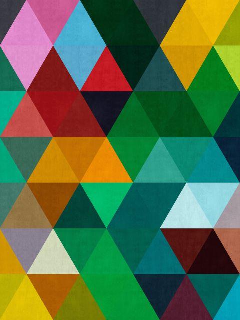 Poster Mosaico Colorido II