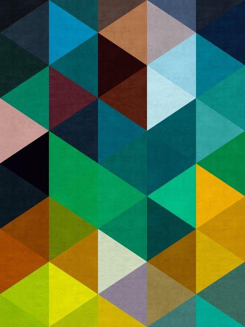 Poster Mosaico Colorido III