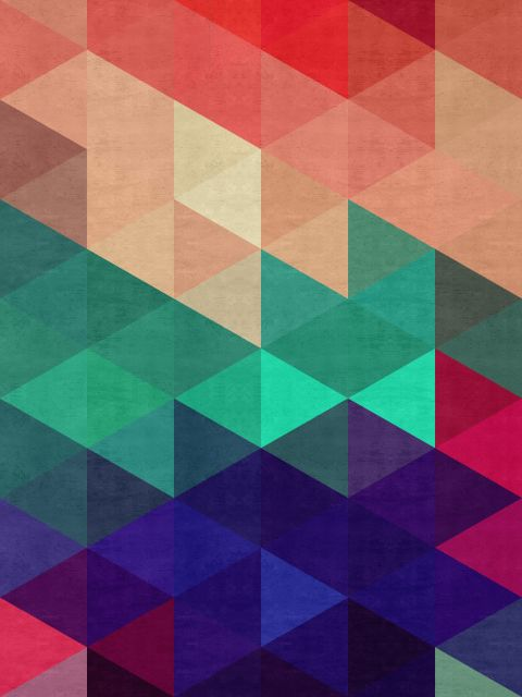 Poster Mosaico Colorido IV
