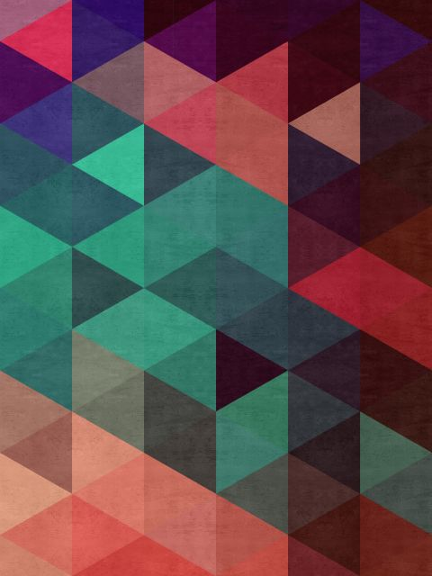 Poster Mosaico Colorido V