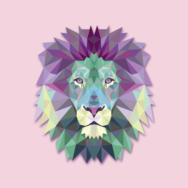 Poster Leão Lion