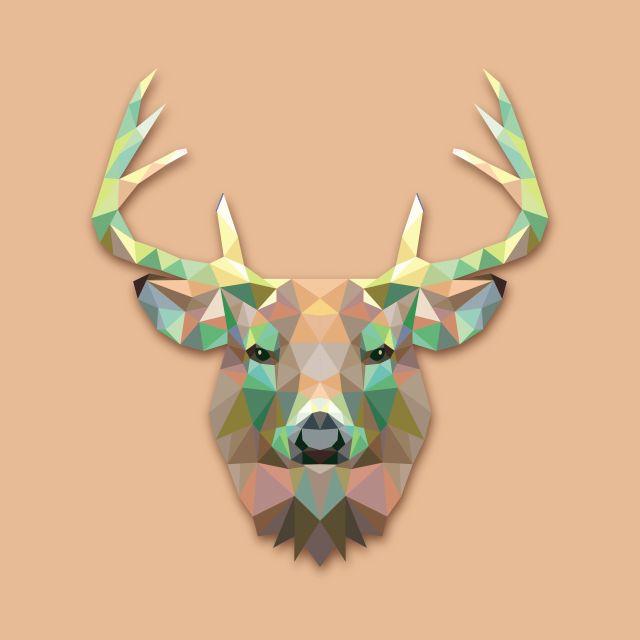 Poster Veado Deer