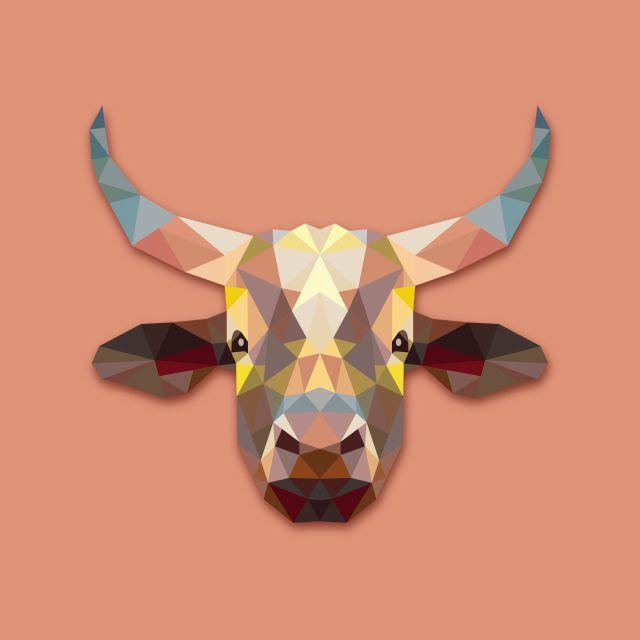 Poster Vaca Cow