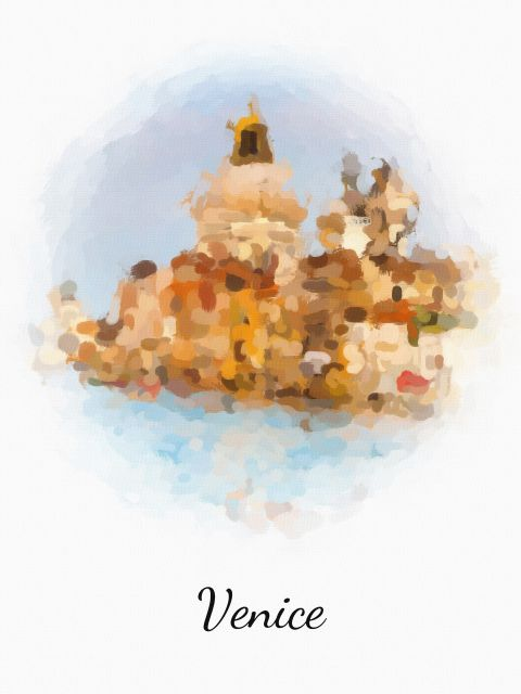 Poster Veneza Venice   itália
