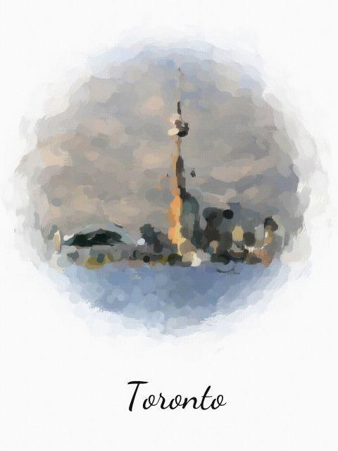Poster Toronto   canadá