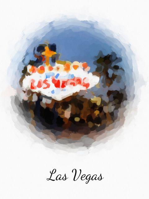 Poster Las Vegas   Estados Unidos EUA