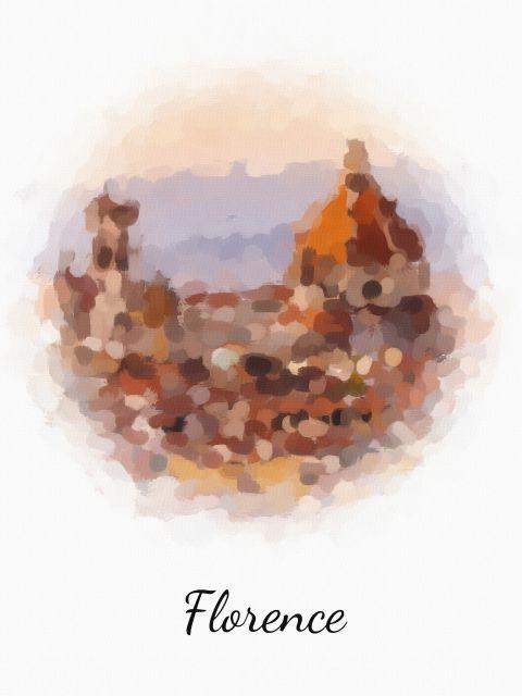Poster Florença Florence   itália