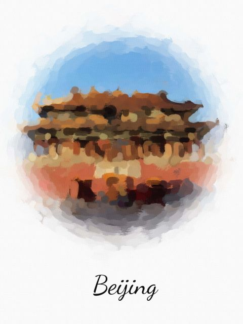 Poster Pequim Beijin   china
