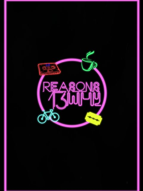 Poster 13 Reasons Why _neon