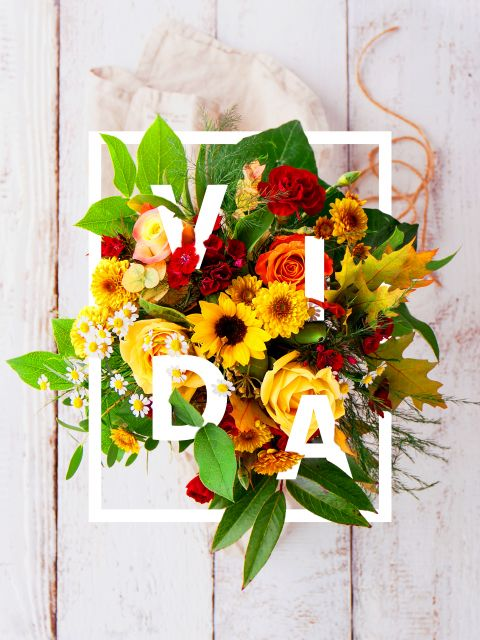 Poster Vida em flores