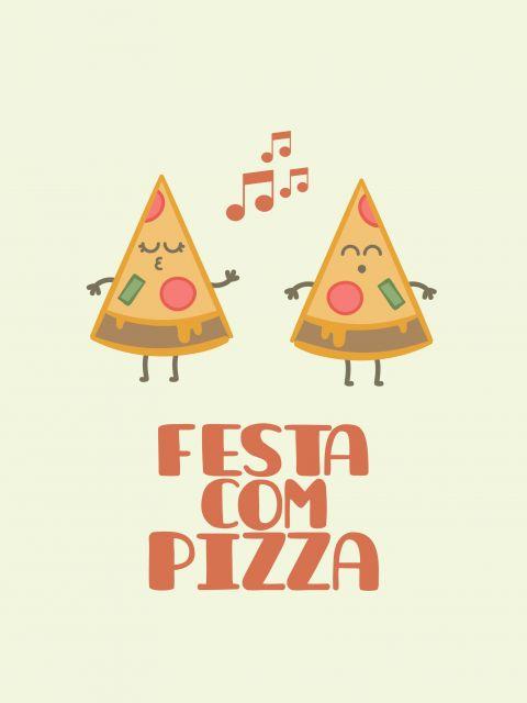 Poster Festa da Pizza