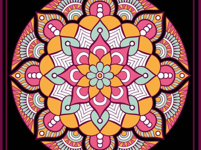 Poster Mandala Boho