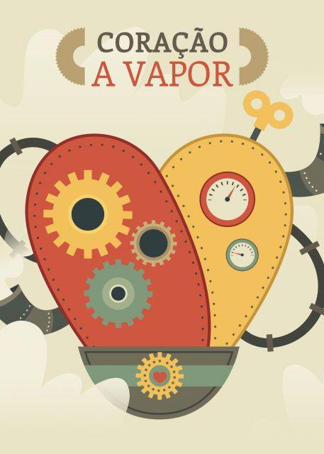 Poster Coração a vapor