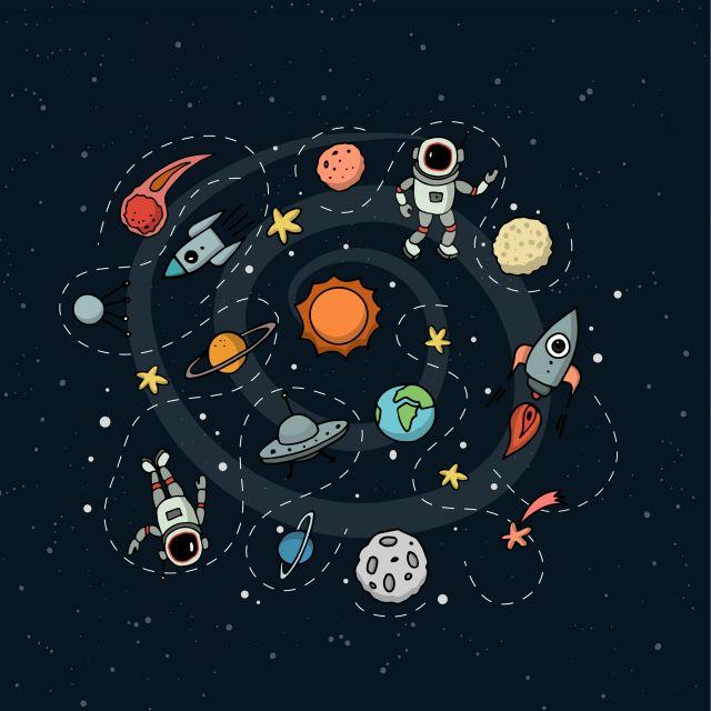 Poster Espaço na visão infantil