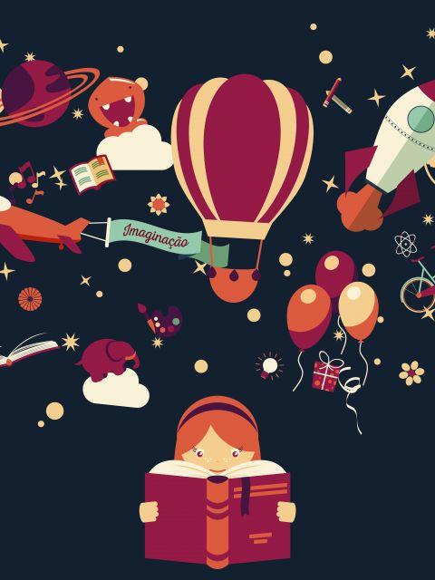 Poster Imaginação de criança