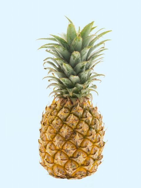 Poster Abacaxi no céu   fruta