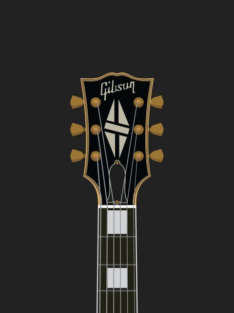 Poster LP Guitar