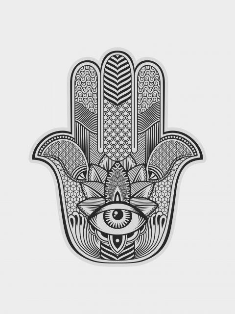 Poster Hamsa - Custom  mão de fátima