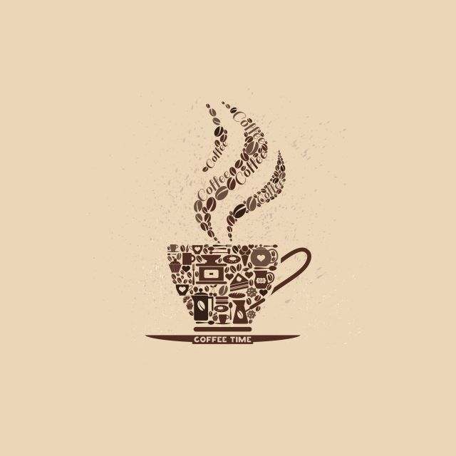 Poster Coffee Time   café