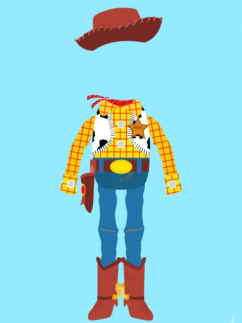 Poster Woody Xerife Toy Story