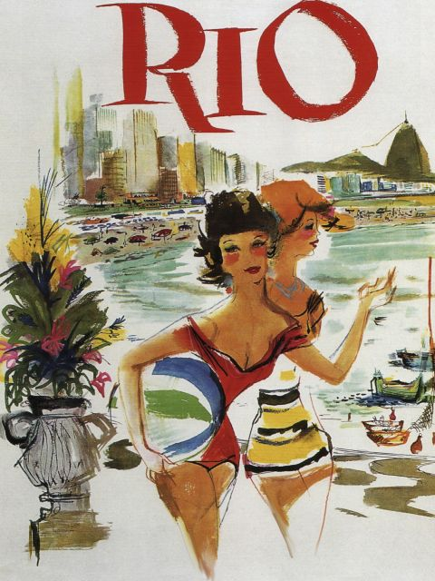 Poster Rio Travel Poster