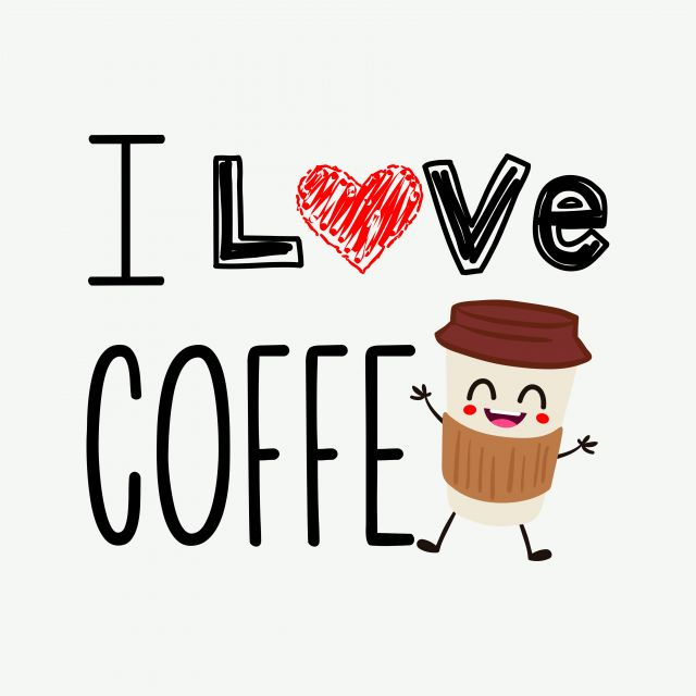 Poster Love coffe