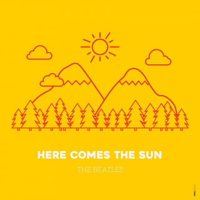 Poster Here Comes the Sun