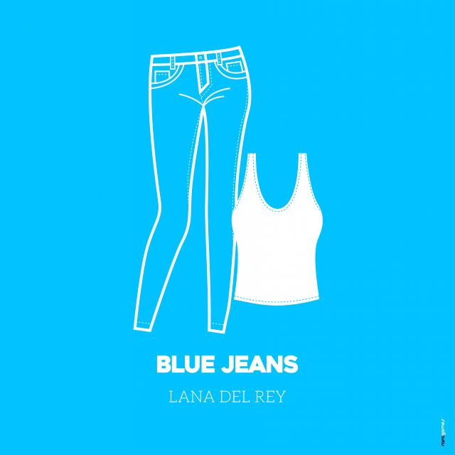 Poster Blue Jeans