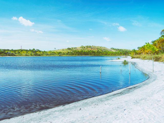 Poster Lagoa Paradisiaca