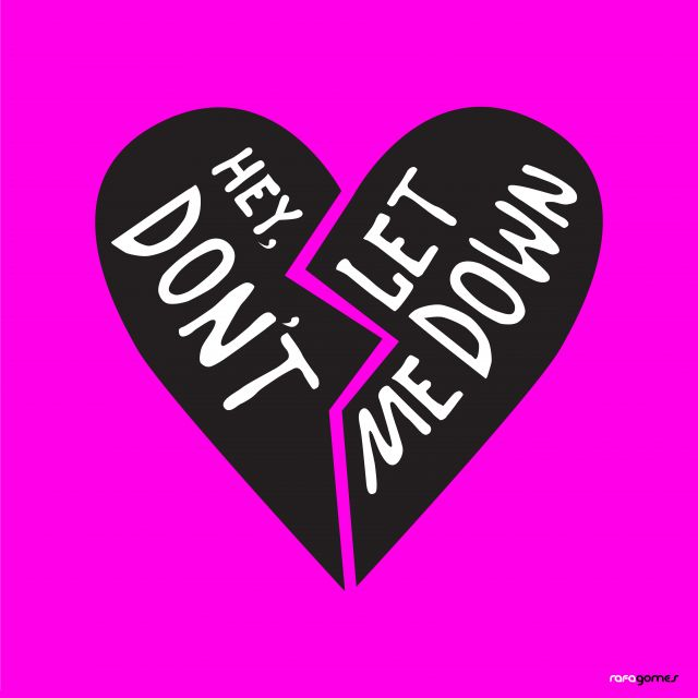 Poster Hey Dont Let Me Down