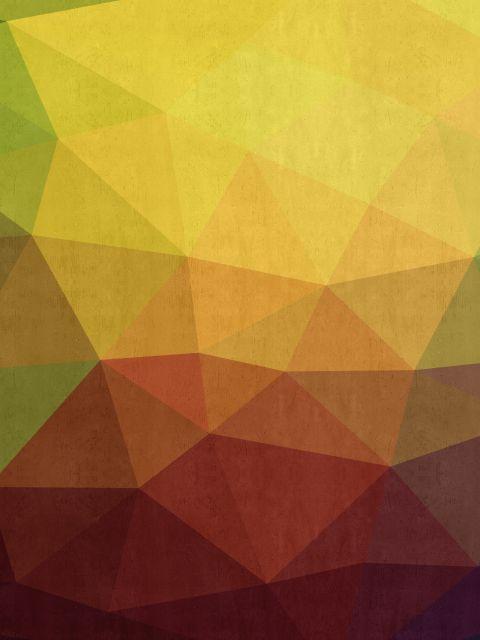 Poster Fundo abstrato   amarelo
