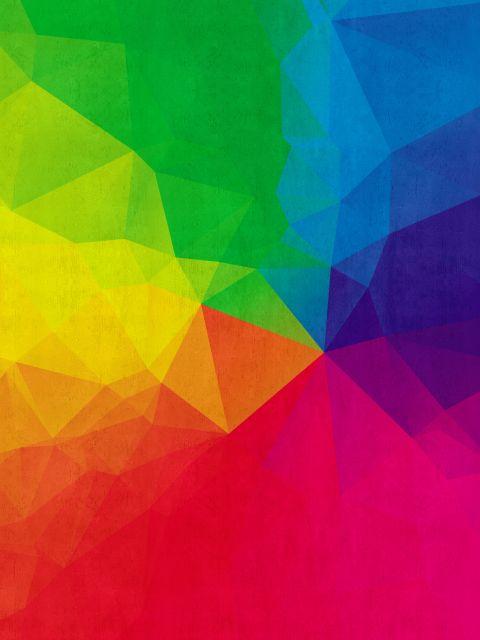 Poster Fundo abstrato I   arco-íris