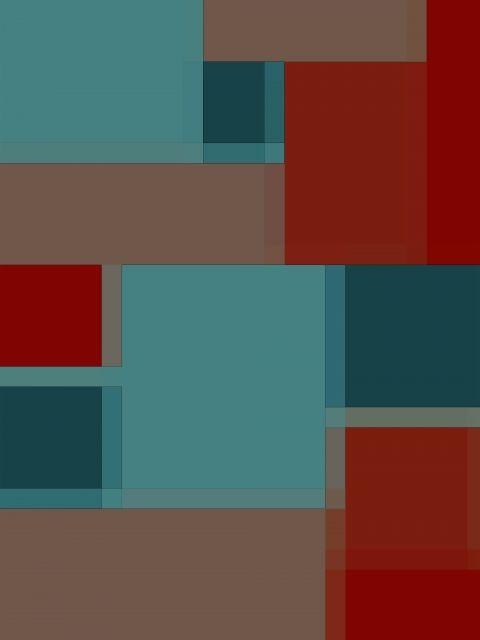 Poster Padrão rubro-verde   azul