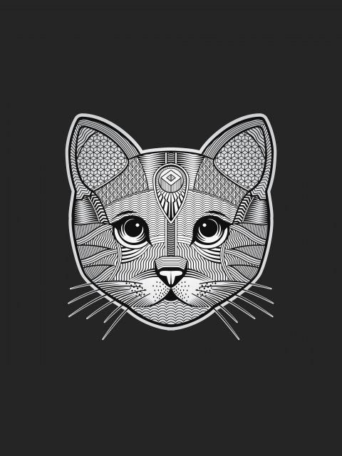 Poster Gato - Custom