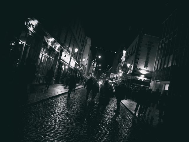 Poster Dublin night