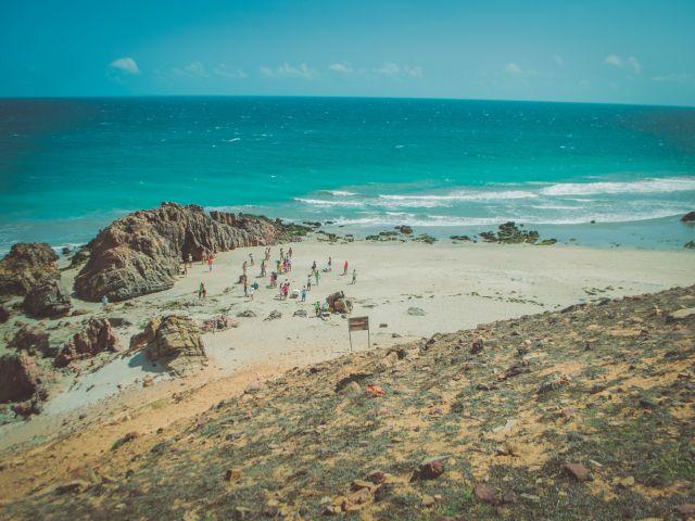Poster Pedra Furada-CE   praia paisagem