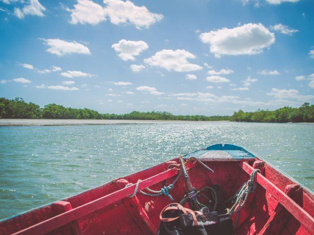 Poster Navegar   barco paisagem