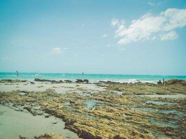 Poster Pedras    praia