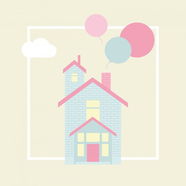 Poster Casa de Sonho 2   casa amarelo