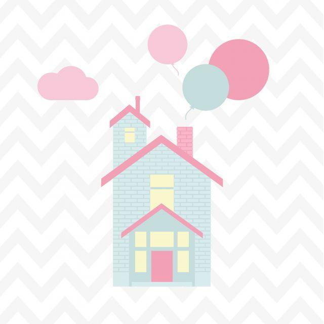 Poster Casa de Sonho 4   casa chevron