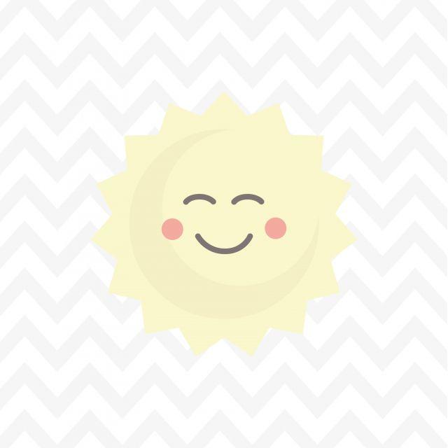 Poster Sol Felizinho 2   chevron sol sun