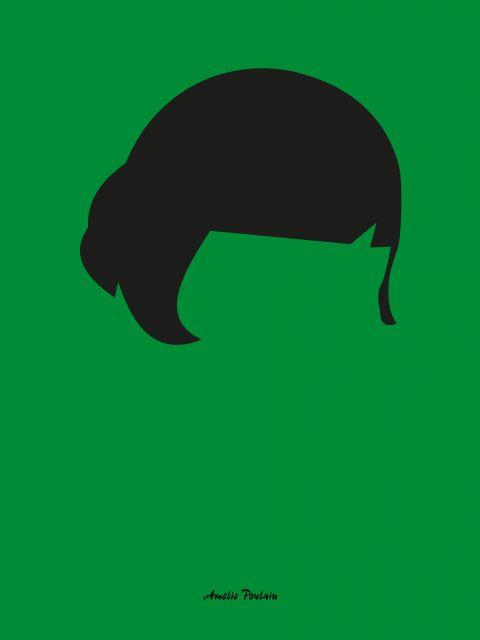 Poster Amélie Poulain   verde