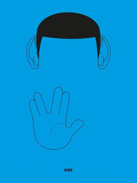 Poster Star Trek Spock