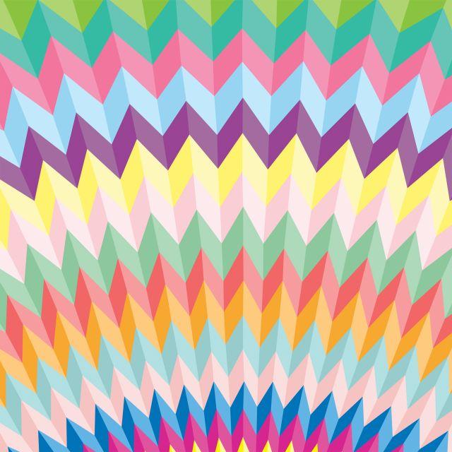 Poster Colorful   cores colorido