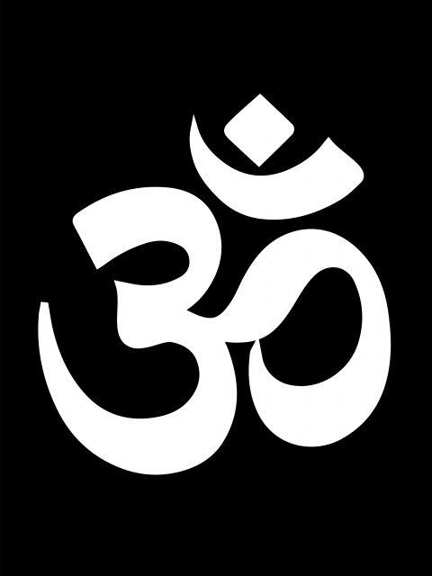 Poster Om   hinduísmo mantra